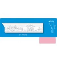 211520 /22/ розовый 2000*37*110 Плинтус потолочный