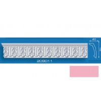 209011 розовый 2000*40*81 /30/ Плинтус потолочный