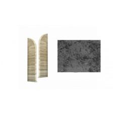Заглушка ДП ДКК левая 8507 черное серебро