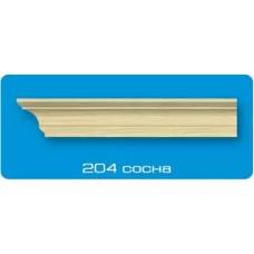 204 ИУ сосна /140/ 2000*44 Плинтус потолочный