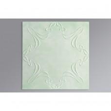 3702 зеленый /36/  500*500 Плитка потолочная