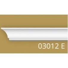 03012Е 2м /240/ 2000*17*24 Плинтус экструдированный