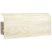 Плинтус напольный ПВХ ДКК-8531 2,5 м полуматовый дуб молочный (20) новый