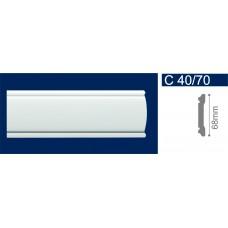 С40/70 Белый Молдинг потолочный 68*2000 /80/